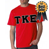 Fraternity Lettered T-Shirt - $15 SALE Gildan 5000 - TWILL