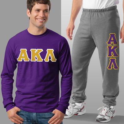 Alpha Kappa Lamda Longsleeve / Sweatpants Package - TWILL