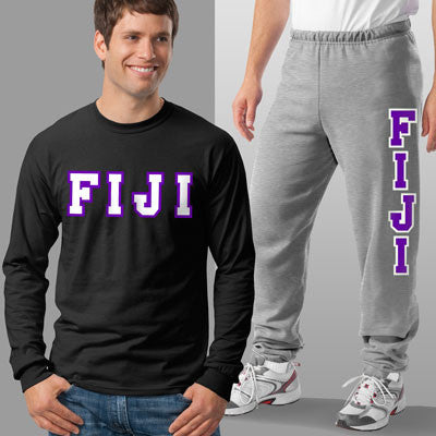 FIJI Longsleeve / Sweatpants Package - TWILL