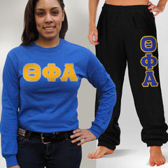 Theta Phi Alpha Longsleeve / Sweatpants Package - TWILL