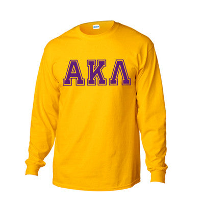 Fraternity Varsity Printed Long-Sleeve T-Shirt - Gildan 2400 - CAD