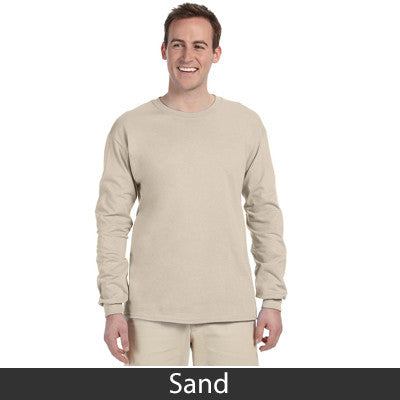Greek Baseball Tail Printed Longsleeve - Gildan 2400 - CAD