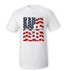 Greek Patriotic Printed Tee - Gildan 4200 - SUB
