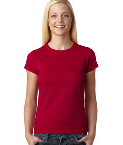 Sorority Millennium Design Ladies' Tee - Gildan 6400L - CAD