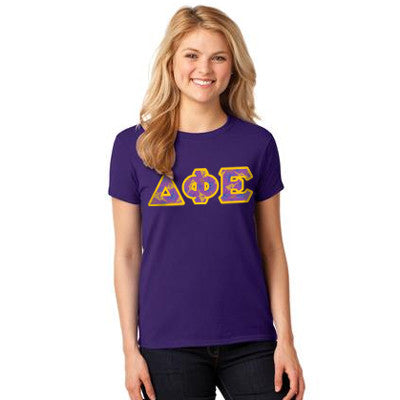 Sorority Printed Pattern T-Shirt - Gildan 5000 - DIG