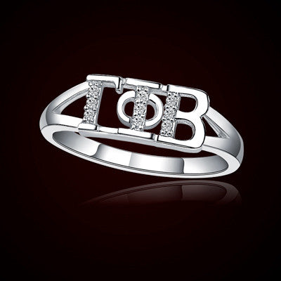 Gamma Phi Beta Sorority Ring - GSTC-R001
