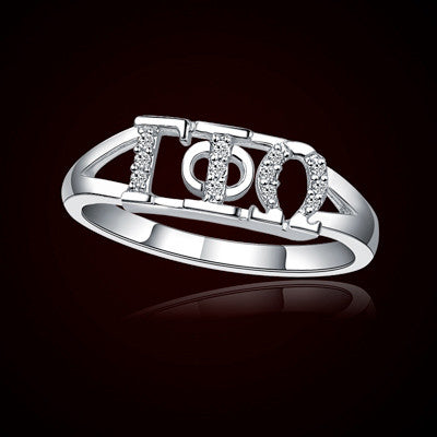 Gamma Phi Omega Sorority Ring - GSTC-R001