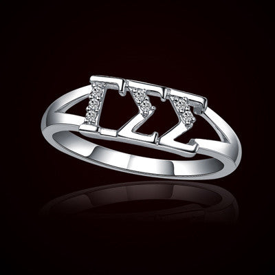 Gamma Sigma Sigma Sorority Ring - GSTC-R001