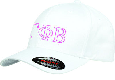 Gamma Phi Beta Flexfit Fitted Hat - Yupoong 6277 - EMB