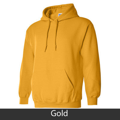 Alpha Epsilon Phi Hooded Sweatshirt - Gildan 18500 - TWILL