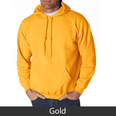 Delta Kappa Epsilon Hooded Sweatshirt - Gildan 18500 - TWILL