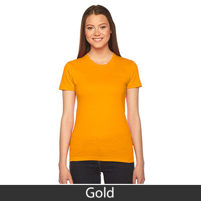 Sigma Gamma Rho Embroidered Jersey Tee - American Apparel 2102 - EMB