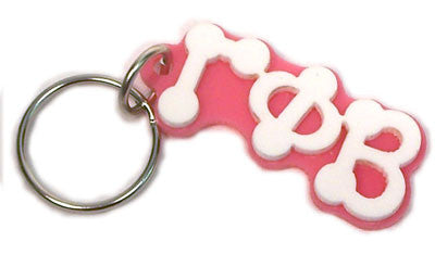 Gamma Phi Beta Bubble Letter Keychain - Craftique cqBKC