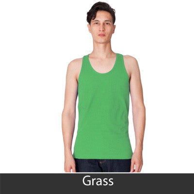 Delta Sigma Phi Fraternity Printed Tank - American Apparel 2408 - CAD