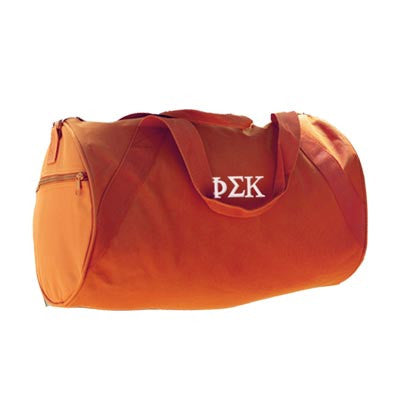Greek Barrel Duffel Bag - Ultra Club 8805 - EMB