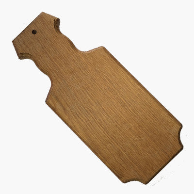 Greek Small Straight Sided Paddle - 215-Oak