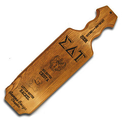Greek Straight Sided Branded Paddle - 500-O - LZR