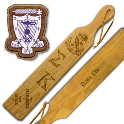 Greek Traditional Custom Branded Paddle - 100-O - LZR
