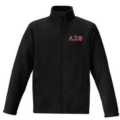Fraternity & Sorority Unisex Journey Fleece Jacket - Core 365 88190 - EMB