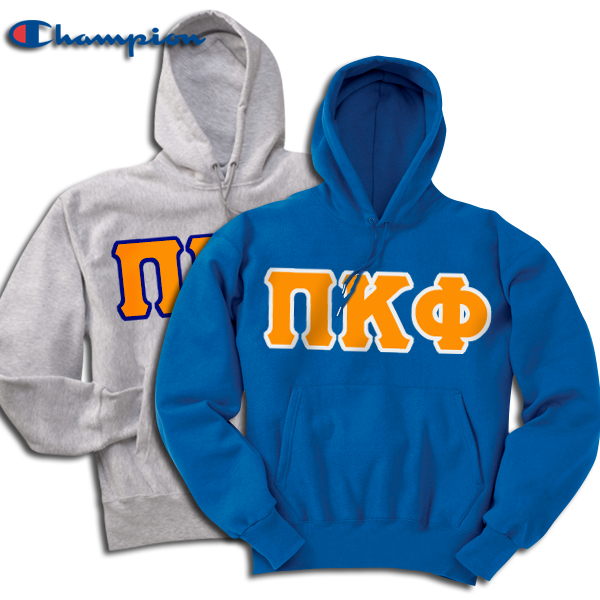 Greek 2 9oz Champion Hoody Package - Champion S700 - TWILL