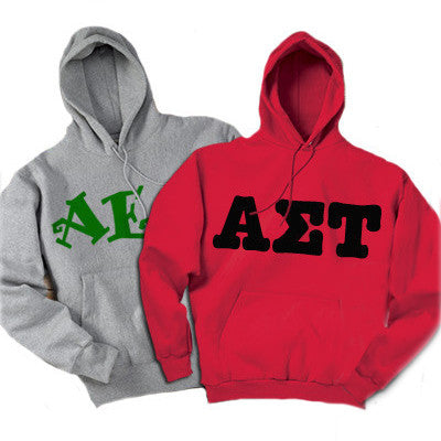 Greek 2 Printed Hooded Sweatshirts - 2 for 1 - Gildan 18500 - CAD