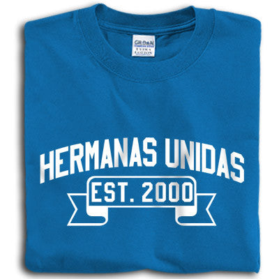 Hermanas Unidas Vintage Football Printed T-Shirt - Gildan 5000 - CAD