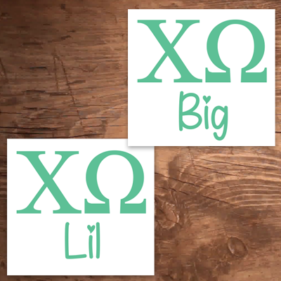 Big/Lil Sticker Duo - DIG
