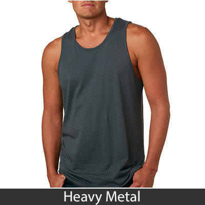 Next Level Fraternity Tank with Twill Letters - Next Level 3633 - TWILL