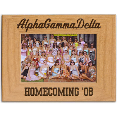 Greek Homecoming Engraved Frame - PTF146 - LZR