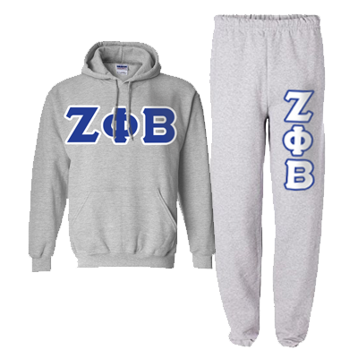 Zeta Phi Beta Hoody / Sweatpant Package - TWILL