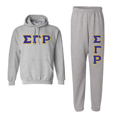 Sigma Gamma Rho Hoody / Sweatpant Package - TWILL