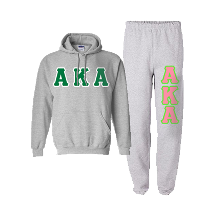 Alpha Kappa Alpha Hoody / Sweatpant Package - TWILL