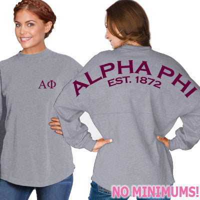Alpha Phi Game Day Jersey - J. America 8229 - CAD