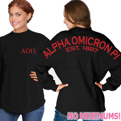 Alpha Omicron Pi Game Day Jersey - J. America 8229 - CAD