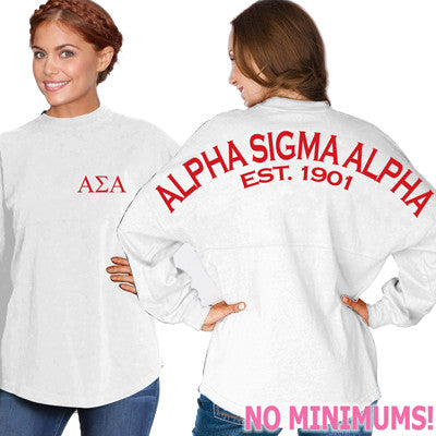 Alpha Sigma Alpha Game Day Jersey - J. America 8229 - CAD