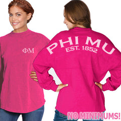 Phi Mu Game Day Jersey - J. America 8229 - CAD