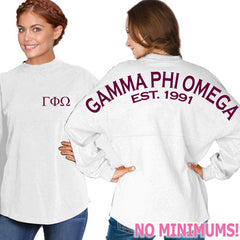 Gamma Phi Omega Game Day Jersey - J. America 8229 - CAD