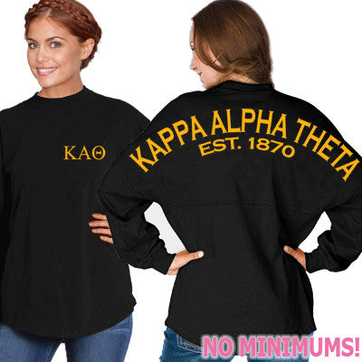 Kappa Alpha Theta Game Day Jersey - J. America 8229 - CAD