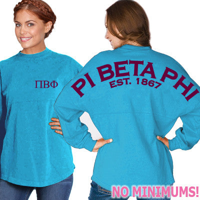 Pi Beta Phi Game Day Jersey - J. America 8229 - CAD