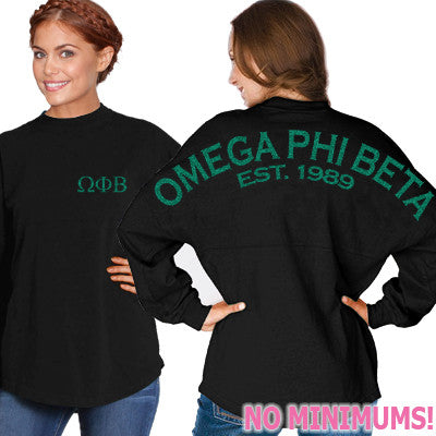 Omega Phi Beta Game Day Jersey - J. America 8229 - CAD