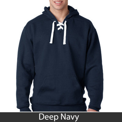 Fraternity Hockey Hoody with Twill Letters - J. America J8830 - TWILL