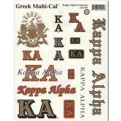 Kappa Alpha Multi-Cal Sticker