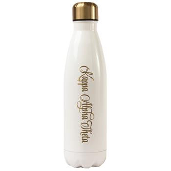 Kappa Alpha Theta Stainless Steel Shimmer Water Bottle - a3001