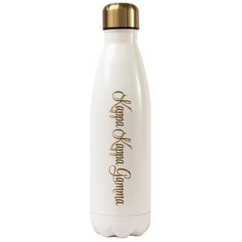 Kappa Kappa Gamma Stainless Steel Shimmer Water Bottle - a3001