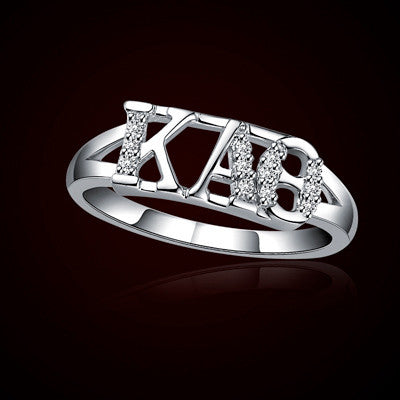 Kappa Alpha Theta Sorority Ring - GSTC-R001