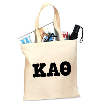 Kappa Alpha Theta Printed Budget Tote - Letter - 825 - CAD