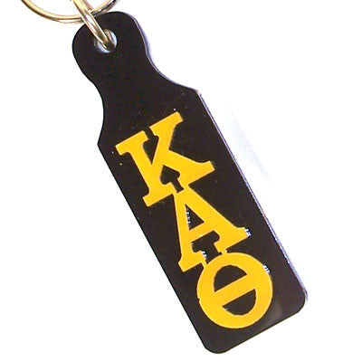 Kappa Alpha Theta Mirror Paddle Keychain - Craftique cqMPK