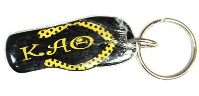 Kappa alpha theta flip flop keychain greek merchandise and for Lil flip jewelry collection
