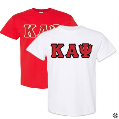 Kappa Alpha Psi Fraternity 2 T-Shirt Pack - Gildan 5000 - TWILL