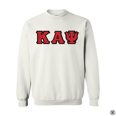 Kappa Alpha Psi Fraternity Standards Crewneck Sweatshirt - Gildan 18000 - Twill